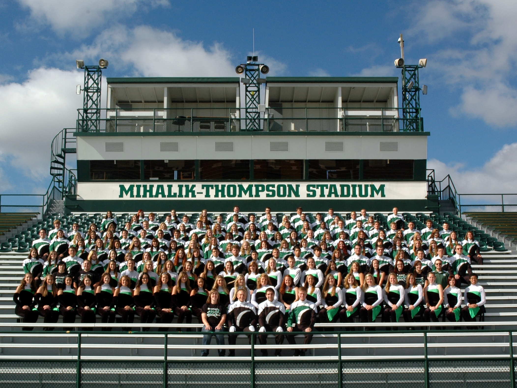 Welcome to the official website of the SRU Marching Pride!